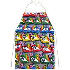 The Eye Of Osiris As Seen On Mediterranean Fishing Boats For Good Luck Full Print Aprons