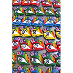 The Eye Of Osiris As Seen On Mediterranean Fishing Boats For Good Luck 5.5  x 8.5  Notebooks