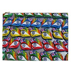 The Eye Of Osiris As Seen On Mediterranean Fishing Boats For Good Luck Cosmetic Bag (xxl)