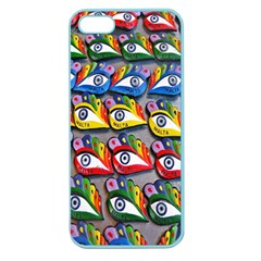 The Eye Of Osiris As Seen On Mediterranean Fishing Boats For Good Luck Apple Seamless iPhone 5 Case (Color)