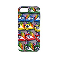 The Eye Of Osiris As Seen On Mediterranean Fishing Boats For Good Luck Apple iPhone 5 Classic Hardshell Case (PC+Silicone)