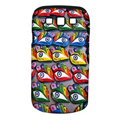 The Eye Of Osiris As Seen On Mediterranean Fishing Boats For Good Luck Samsung Galaxy S III Classic Hardshell Case (PC+Silicone)