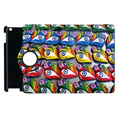 The Eye Of Osiris As Seen On Mediterranean Fishing Boats For Good Luck Apple Ipad 3/4 Flip 360 Case