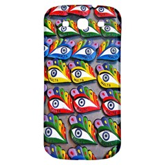 The Eye Of Osiris As Seen On Mediterranean Fishing Boats For Good Luck Samsung Galaxy S3 S III Classic Hardshell Back Case