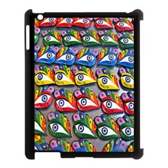 The Eye Of Osiris As Seen On Mediterranean Fishing Boats For Good Luck Apple iPad 3/4 Case (Black)