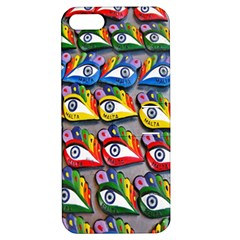 The Eye Of Osiris As Seen On Mediterranean Fishing Boats For Good Luck Apple iPhone 5 Hardshell Case with Stand