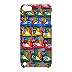 The Eye Of Osiris As Seen On Mediterranean Fishing Boats For Good Luck Apple iPod Touch 5 Hardshell Case with Stand