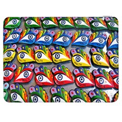 The Eye Of Osiris As Seen On Mediterranean Fishing Boats For Good Luck Samsung Galaxy Tab 7  P1000 Flip Case