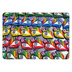 The Eye Of Osiris As Seen On Mediterranean Fishing Boats For Good Luck Samsung Galaxy Tab 8.9  P7300 Flip Case
