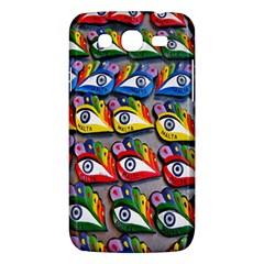 The Eye Of Osiris As Seen On Mediterranean Fishing Boats For Good Luck Samsung Galaxy Mega 5.8 I9152 Hardshell Case