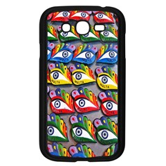 The Eye Of Osiris As Seen On Mediterranean Fishing Boats For Good Luck Samsung Galaxy Grand DUOS I9082 Case (Black)