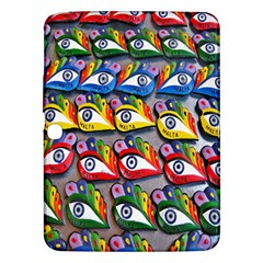The Eye Of Osiris As Seen On Mediterranean Fishing Boats For Good Luck Samsung Galaxy Tab 3 (10.1 ) P5200 Hardshell Case