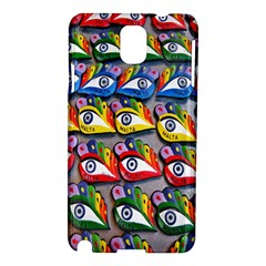 The Eye Of Osiris As Seen On Mediterranean Fishing Boats For Good Luck Samsung Galaxy Note 3 N9005 Hardshell Case
