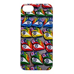 The Eye Of Osiris As Seen On Mediterranean Fishing Boats For Good Luck Apple iPhone 5S/ SE Hardshell Case