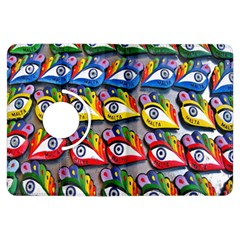 The Eye Of Osiris As Seen On Mediterranean Fishing Boats For Good Luck Kindle Fire Hdx Flip 360 Case