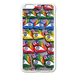 The Eye Of Osiris As Seen On Mediterranean Fishing Boats For Good Luck Apple Iphone 6 Plus/6s Plus Enamel White Case