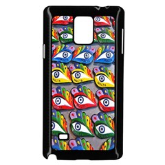 The Eye Of Osiris As Seen On Mediterranean Fishing Boats For Good Luck Samsung Galaxy Note 4 Case (black)
