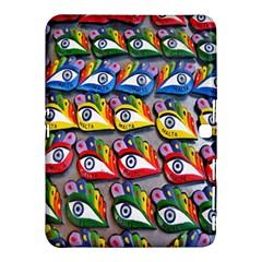 The Eye Of Osiris As Seen On Mediterranean Fishing Boats For Good Luck Samsung Galaxy Tab 4 (10.1 ) Hardshell Case