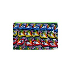 The Eye Of Osiris As Seen On Mediterranean Fishing Boats For Good Luck Cosmetic Bag (XS)