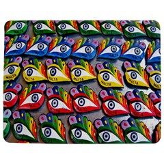 The Eye Of Osiris As Seen On Mediterranean Fishing Boats For Good Luck Jigsaw Puzzle Photo Stand (Rectangular)