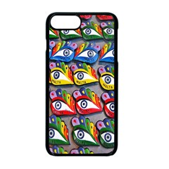 The Eye Of Osiris As Seen On Mediterranean Fishing Boats For Good Luck Apple iPhone 7 Plus Seamless Case (Black)