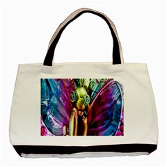 Magic Butterfly Art In Glass Basic Tote Bag
