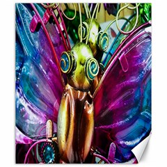 Magic Butterfly Art In Glass Canvas 20  x 24