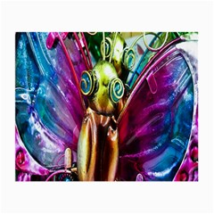 Magic Butterfly Art In Glass Small Glasses Cloth (2 Side)