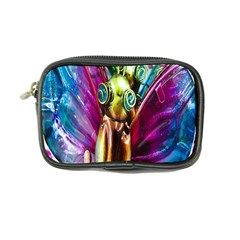 Magic Butterfly Art In Glass Coin Purse