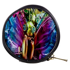 Magic Butterfly Art In Glass Mini Makeup Bags
