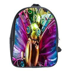 Magic Butterfly Art In Glass School Bags(Large)