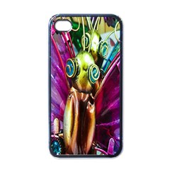 Magic Butterfly Art In Glass Apple Iphone 4 Case (black)