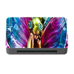 Magic Butterfly Art In Glass Memory Card Reader with CF