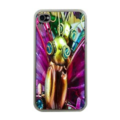Magic Butterfly Art In Glass Apple iPhone 4 Case (Clear)