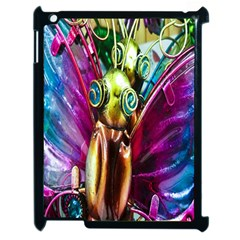 Magic Butterfly Art In Glass Apple iPad 2 Case (Black)