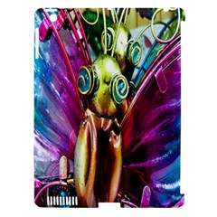 Magic Butterfly Art In Glass Apple iPad 3/4 Hardshell Case (Compatible with Smart Cover)