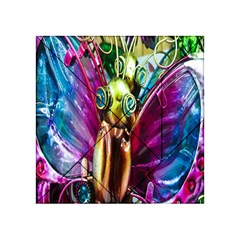 Magic Butterfly Art In Glass Acrylic Tangram Puzzle (4  X 4 )