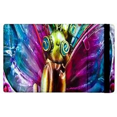 Magic Butterfly Art In Glass Apple iPad 2 Flip Case