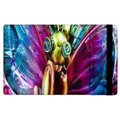 Magic Butterfly Art In Glass Apple Ipad 3/4 Flip Case