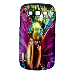 Magic Butterfly Art In Glass Samsung Galaxy S III Classic Hardshell Case (PC+Silicone)