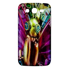 Magic Butterfly Art In Glass Samsung Galaxy Mega 5.8 I9152 Hardshell Case