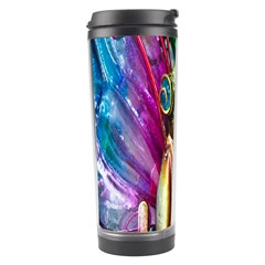 Magic Butterfly Art In Glass Travel Tumbler