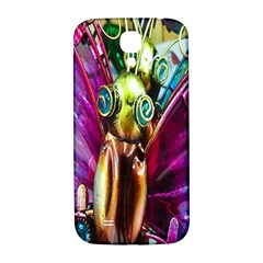 Magic Butterfly Art In Glass Samsung Galaxy S4 I9500/I9505  Hardshell Back Case