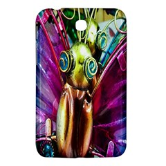Magic Butterfly Art In Glass Samsung Galaxy Tab 3 (7 ) P3200 Hardshell Case