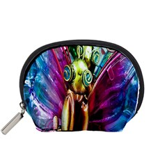 Magic Butterfly Art In Glass Accessory Pouches (Small)