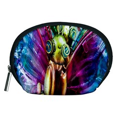 Magic Butterfly Art In Glass Accessory Pouches (medium)