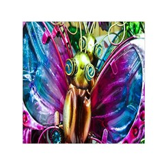 Magic Butterfly Art In Glass Small Satin Scarf (square)