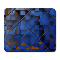 Glass Abstract Art Pattern Large Mousepads