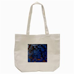 Glass Abstract Art Pattern Tote Bag (cream)