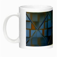 Glass Abstract Art Pattern Night Luminous Mugs